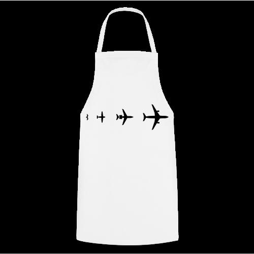 Flugzeug Evolution Shirt - Kochschürze
