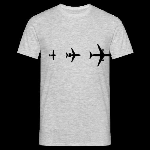 Flugzeug Evolution Shirt - Männer T-Shirt