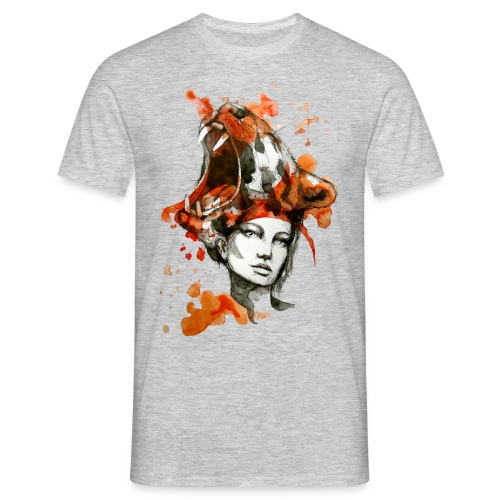 Tora by carographic, Carolyn Mielke - Männer T-Shirt