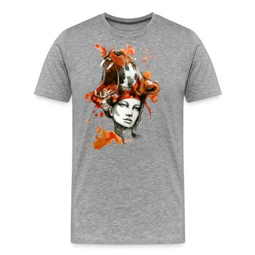 Tora by carographic, Carolyn Mielke - Männer Premium T-Shirt