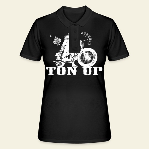 Ton Up white  - Women's Polo Shirt
