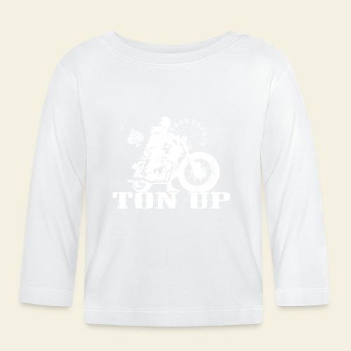 Ton Up white  - Langærmet babyshirt