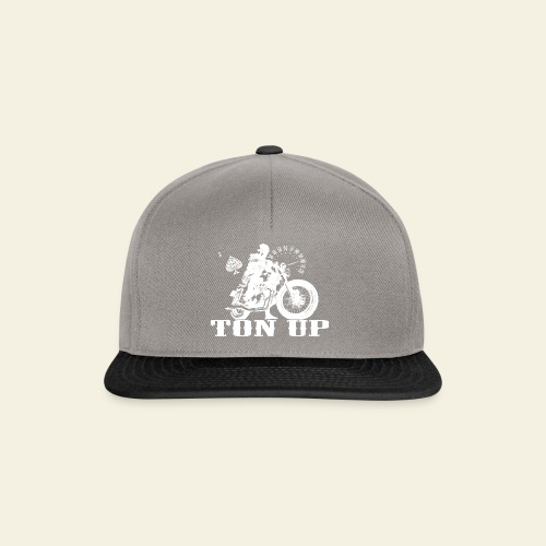 Ton Up white  - Snapback Cap