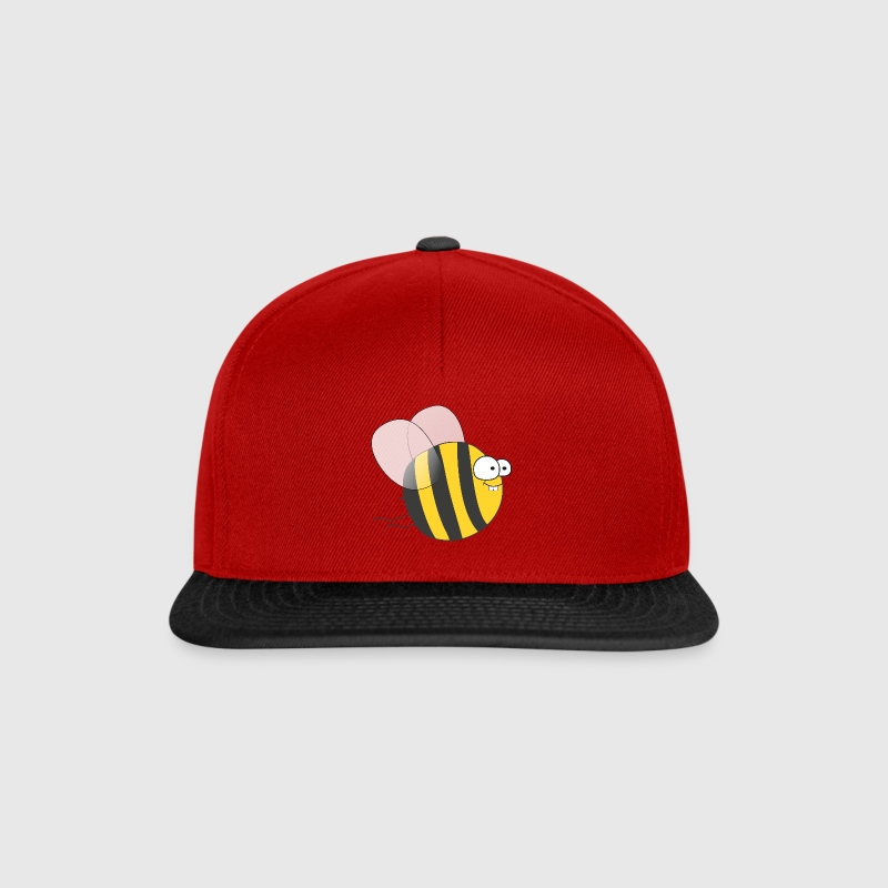 Cool & Crazy Funny Bee / Bumble Bee (Sweet & Cute) Caps & Hats - Snapback Cap