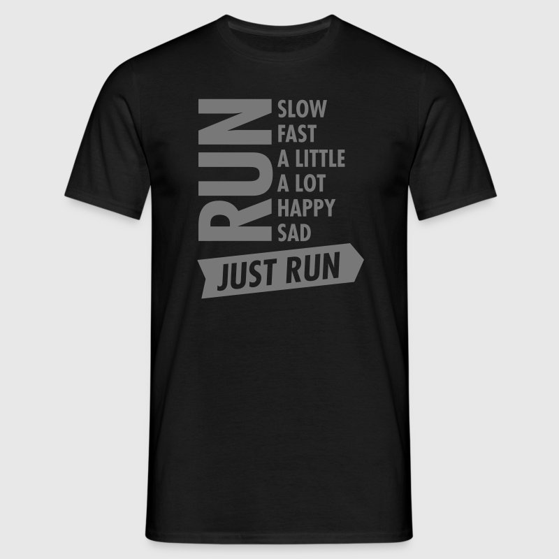 Just Run Tee shirts - T-shirt Homme