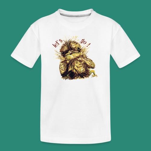 Lets go ,Thermotasse - Teenager Premium Bio T-Shirt