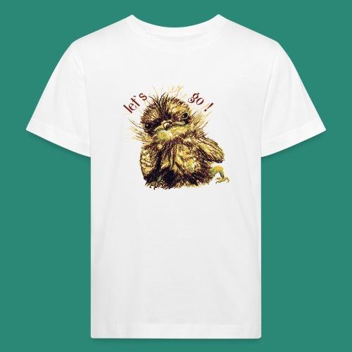 Lets go ,Thermotasse - Kinder Bio-T-Shirt