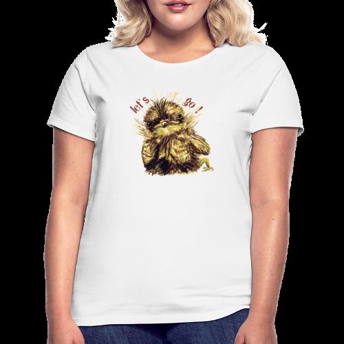 Lets go ,Thermotasse - Frauen T-Shirt