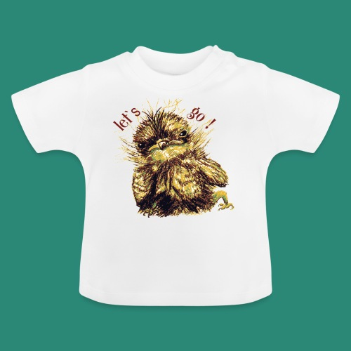 Lets go ,Thermotasse - Baby T-Shirt