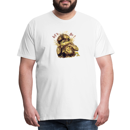Lets go ,Thermotasse - Männer Premium T-Shirt
