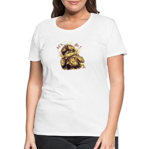 Lets go ,Thermotasse - Frauen Premium T-Shirt