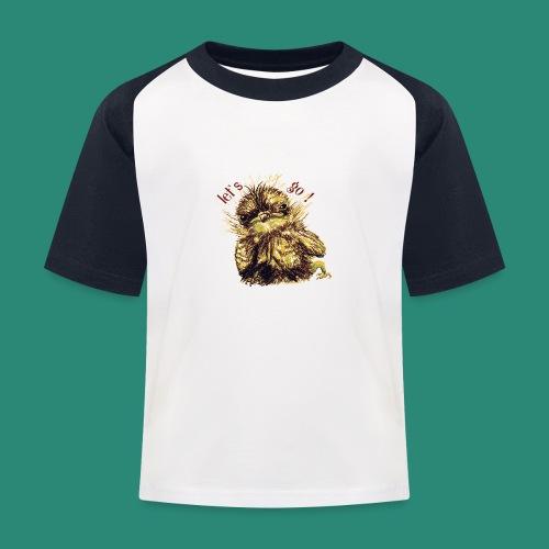 Lets go ,Thermotasse - Kinder Baseball T-Shirt