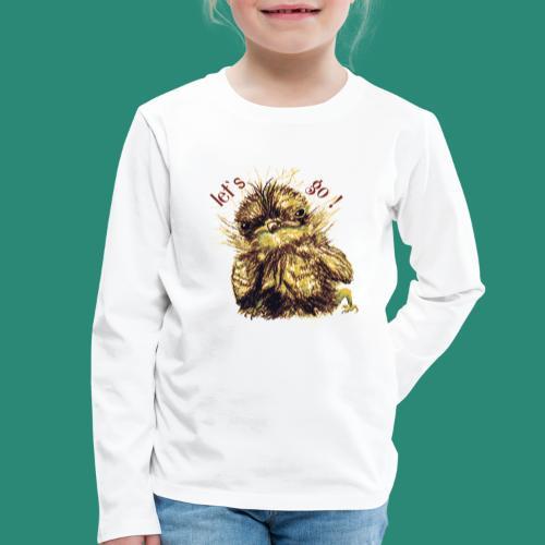 Lets go ,Thermotasse - Kinder Premium Langarmshirt