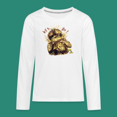 Lets go ,Thermotasse - Teenager Premium Langarmshirt