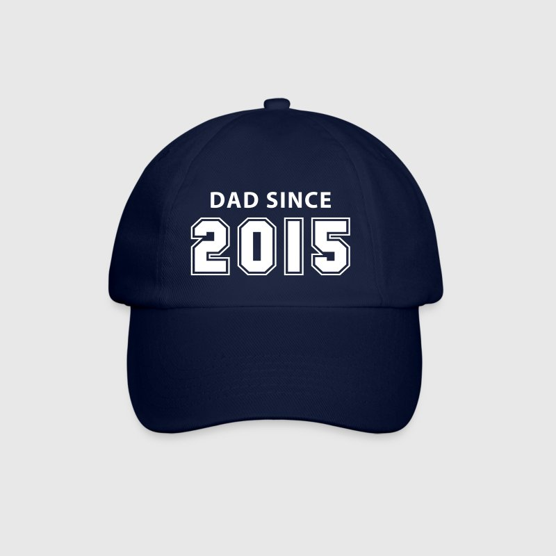 dad since 2015 - daddy design Kepsar & mössor - Basebollkeps