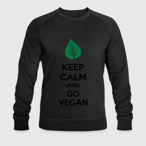 Keep Calm And Go Vegan Sports wear - Men's Sweatshirt by Stanley & Stella