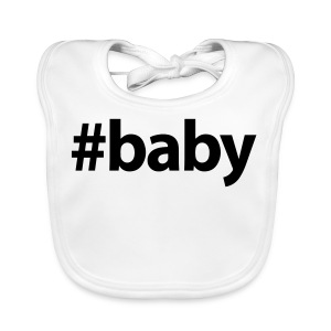 Hashtag Baby - Bio-slabbetje voor baby's