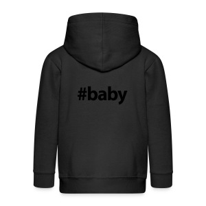 Hashtag Baby - Kinderen Premium jas met capuchon