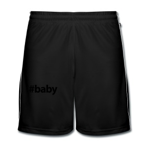 Hashtag Baby - Mannen voetbal shorts