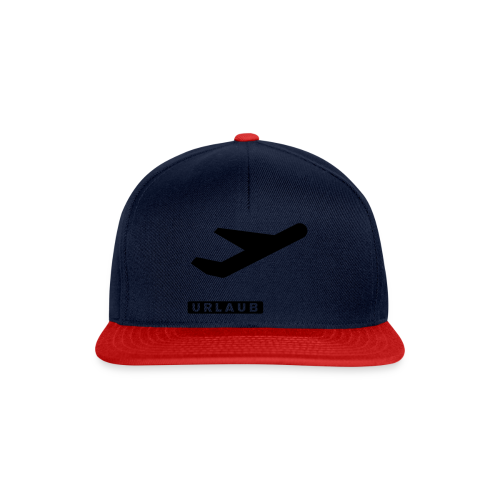 departure Abflug Symbol Shirt - Snapback Cap