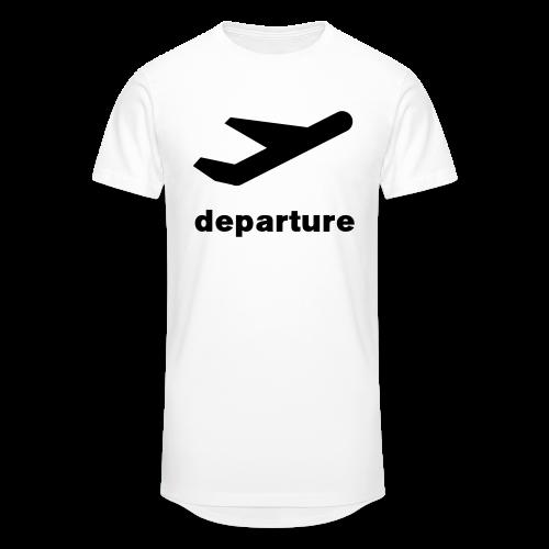 departure Abflug Symbol Shirt - Männer Urban Longshirt