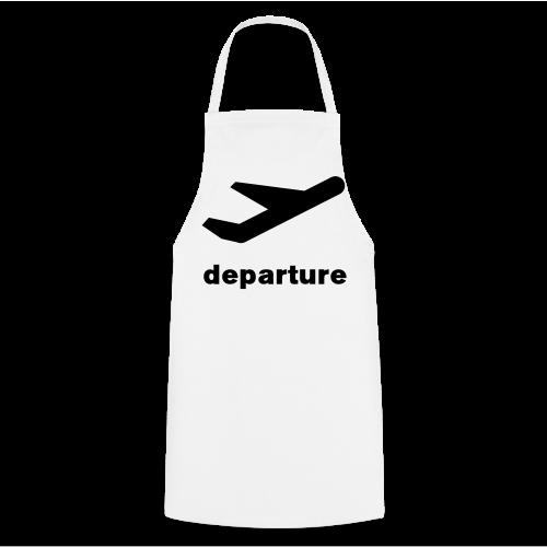 departure Abflug Symbol Shirt - Kochschürze