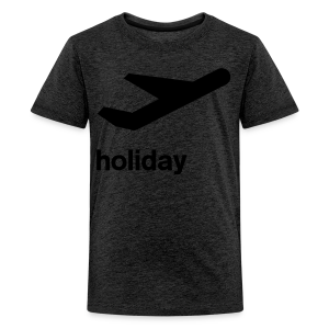 departure Abflug Symbol Holiday Shirt - Teenager Premium T-Shirt