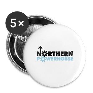 Northern Powerhouse - Mens Hoodie - Buttons medium 32 mm