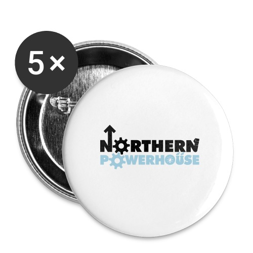 Northern Powerhouse - Mens Hoodie - Buttons medium 32 mm