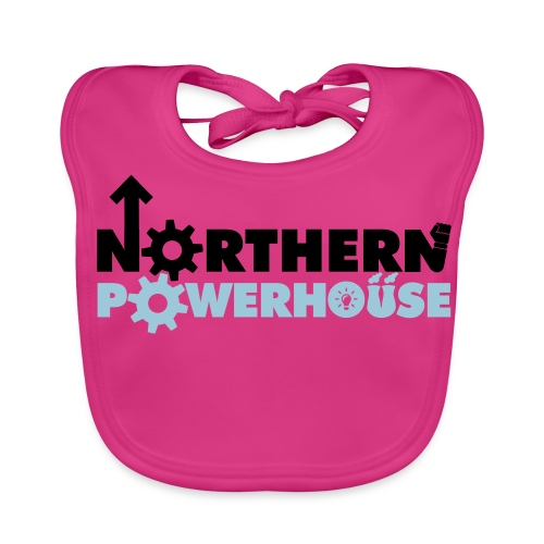 Northern Powerhouse - Mens Hoodie - Baby Organic Bib