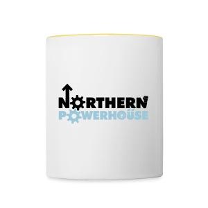 Northern Powerhouse - Mens Hoodie - Contrasting Mug