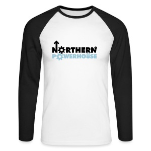 Northern Powerhouse - Mens Hoodie - Men's Long Sleeve Baseball T-Shirt