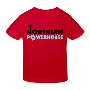 Northern Powerhouse - Mens Hoodie - Kids' Organic T-shirt