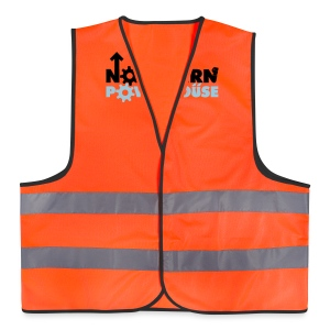 Northern Powerhouse - Mens Hoodie - Reflective Vest