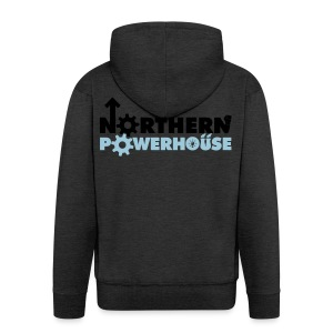 Northern Powerhouse - Mens Hoodie - Men's Premium Hooded Jacket