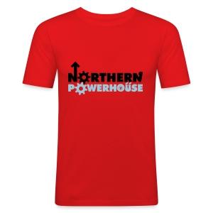Northern Powerhouse - Mens Hoodie - Men's Slim Fit T-Shirt