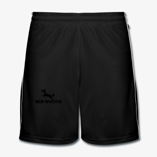 REH WOLFER - Männer Fußball-Shorts