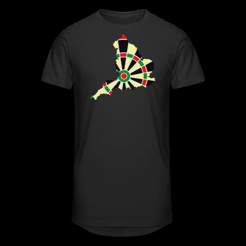 England Dartscheibe Shirt - Männer Urban Longshirt