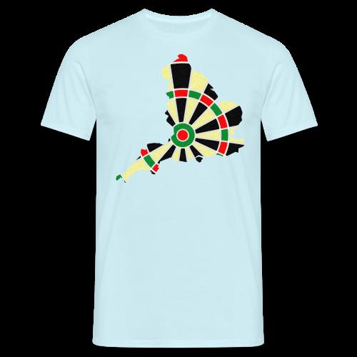 England Dartscheibe Shirt - Männer T-Shirt