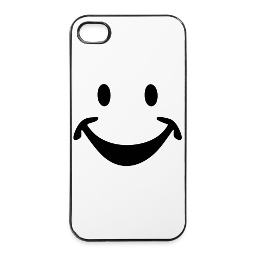SMILEY FACE - iPhone 4/4s Hard Case