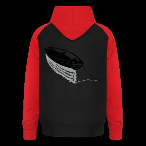 Boot auf See Shirt - Unisex Baseball Hoodie