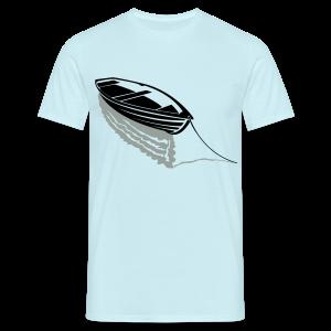 Boot auf See Shirt - Männer T-Shirt
