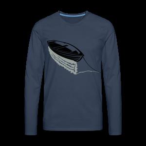 Boot auf See Shirt - Männer Premium Langarmshirt