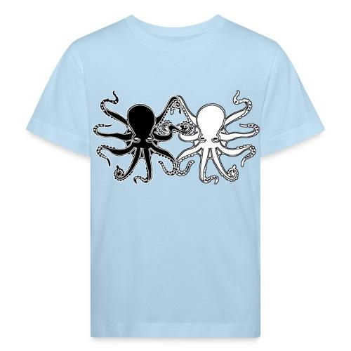 Pulpos.Camiseta contraste hombre - Camiseta ecológica niño