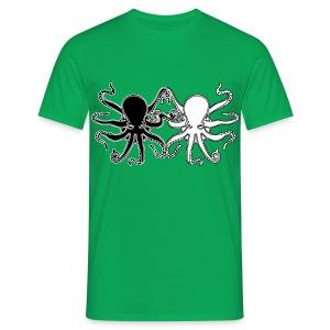 Pulpos.Camiseta contraste hombre - Camiseta hombre