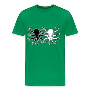 Pulpos.Camiseta contraste hombre - Camiseta premium hombre