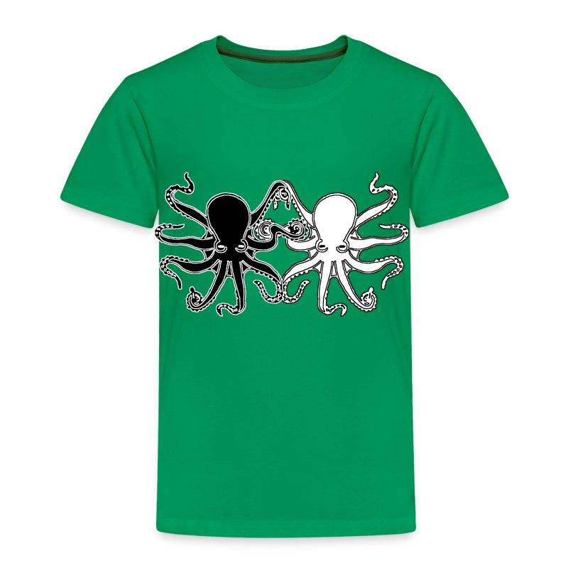 Pulpos.Camiseta contraste hombre - Camiseta premium niño