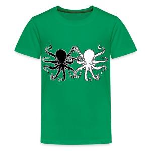 Pulpos.Camiseta contraste hombre - Camiseta premium adolescente
