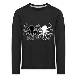 Pulpos.Camiseta contraste hombre - Camiseta de manga larga premium niño