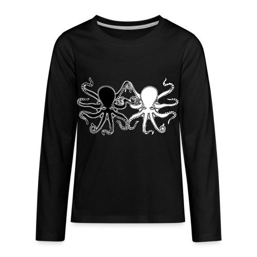 Pulpos.Camiseta contraste hombre - Camiseta de manga larga premium adolescente